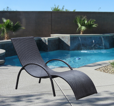 Otello Outdoor Lounge Chair, FMI10076 by Fine Mod Imports