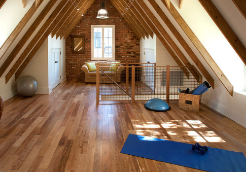 Consider what can be done with a loft, attic, or other underutilized space! (By Dino Tonn)