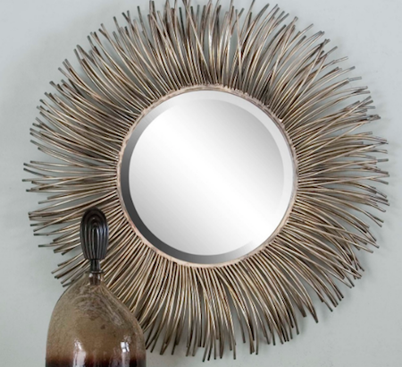 Akisha Starburst Mirror, 12845 by Uttermost