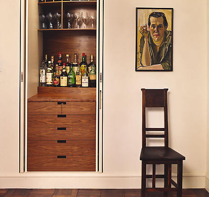 Don't let lack of space stop you! Bars come in many different forms. (By Electric Hall)
