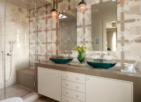 A great choice for bathrooms without natural light. (By Kohler)