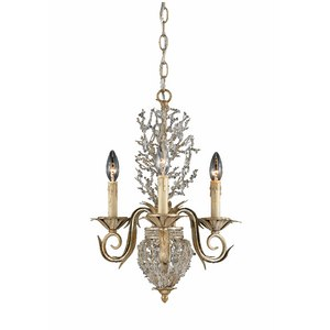 The Garland Mini Chandelier from Triarch