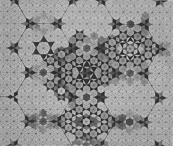 A Sketch of a Mosaic Pattern by Owen Jones
