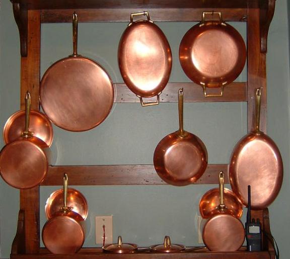 Copper Pans Collection