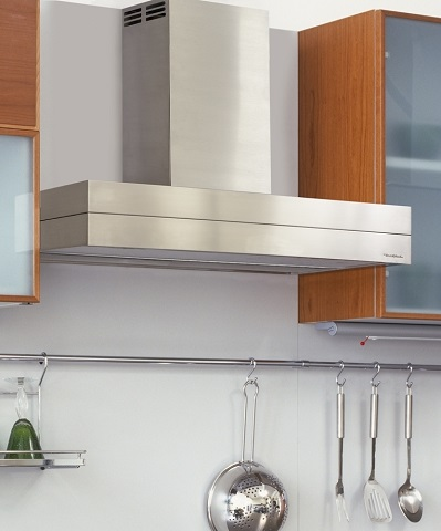 "30"" Stainless Steel Wall Mount Chimney Hood with Duct-Free Ventilation CWEAH6K30SS from Vent-A-Hood"