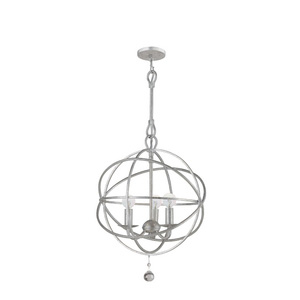 Olde Silver Chandelier from The Solaris Collection