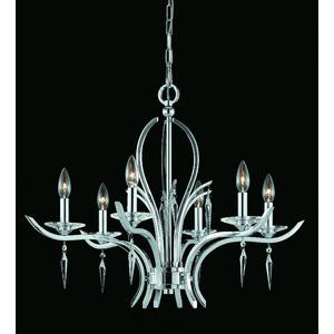 Six Light Chandelier Triarch International
