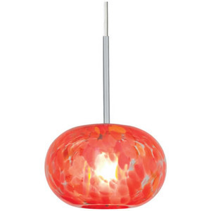 Candy Apple Red Pendant Light
