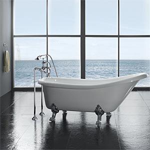 The Classic Clawfoot Bathtub