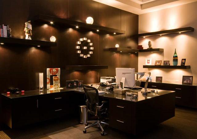 Contemporary Lighting Design for an Office