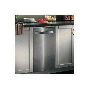 The Flat Stainless Steel Trash Compactor
