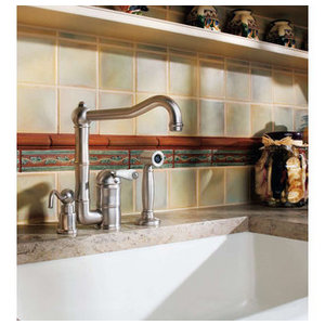 The Country Kitchen Collection Sink Faucet from Rohl