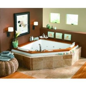 Triangular Tub from the Fuzion Collection