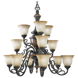 The Provence Chandelier from Progress Lighting