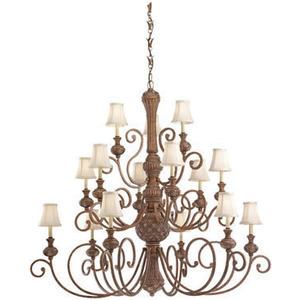 The Highlands Chandelier from Sea Gull