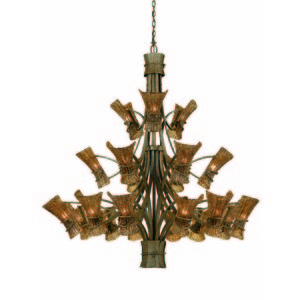 A Rustic Chandelier from Triarch International