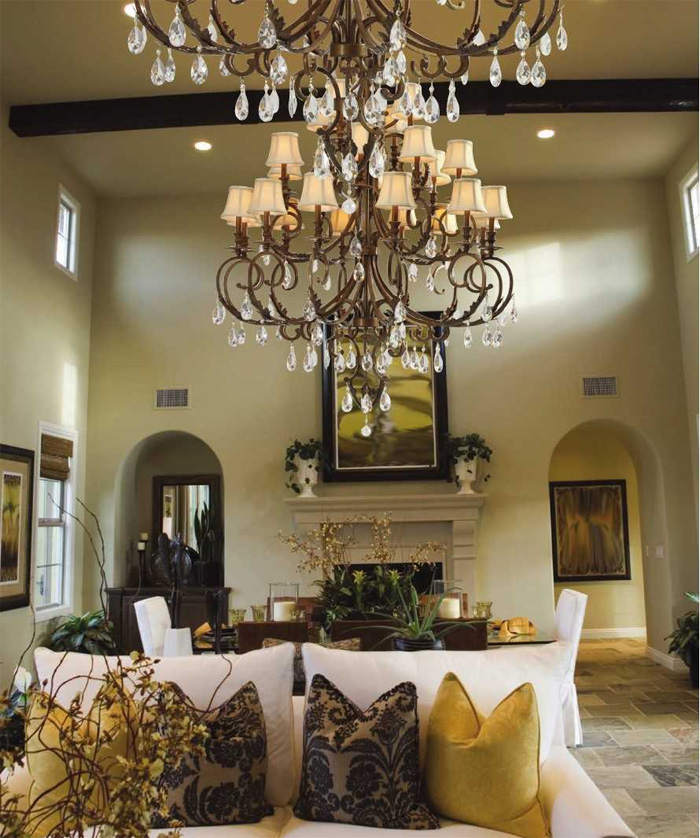 Crystorama Chandelier Royal Collection
