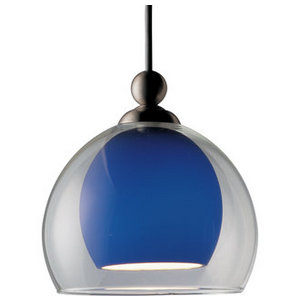 Blue Pendant Track Light from Progress Lighting