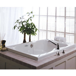 The Mito Whirlpool Bath Tub by Jacuzzi