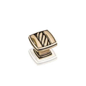Cable Square Knob from Hardware Resources