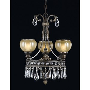 Le Grandeur Mini Chandelier from Triarch International