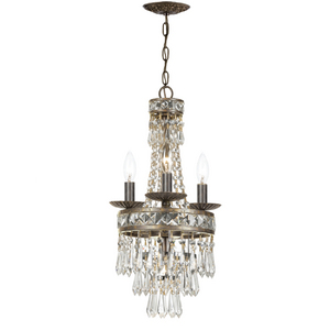 The Mercer Collection Mini Chandelier from Crystorama