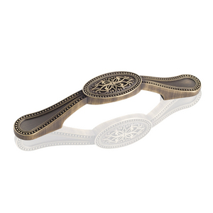 Oval Filligree Pull Decorative Hardware