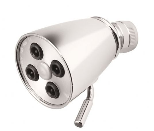 Shower Head with Four Jets from California Faucets