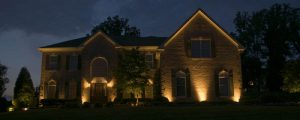 Just A Few Up Lights Are More Striking Than Inviting, And Give Your Home A Dramatic Appearance