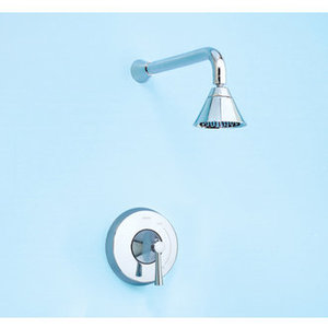 Pressure Balanced Shower Only Trim with Rain Shower Showerhead from the Nexus Collection