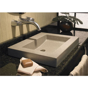 Swanstone Palladio 22 Inch Above the Counter Lavatory Sink