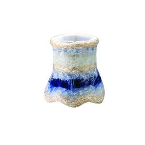 Blue Fabric Mini Shade