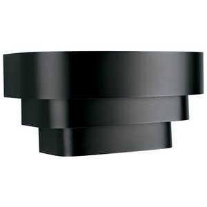 Retro Wall Sconce in Black