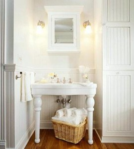 Console Vanities Evoke Classic Vanity Tables, And Allow For A Little More Storage Space With A Simple Sink Skirt