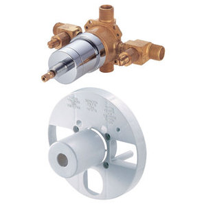Danze Single Control Pressure Balance Mixing Valve - This Is What The Guts Will Look Like Without The Handles