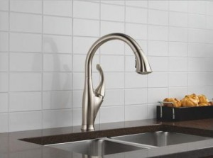 Dirty Hands? Clean Up With A Touch-Activated Faucet