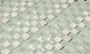 Glass Mosaic Tile Vento Mystic Sea