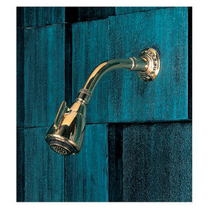 Herbeau Pompadour Collection Multi-Function Shower Head with Arm and Flange