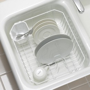 Kohler Coated Wire Flat-Rim Rinse and Dish Rack