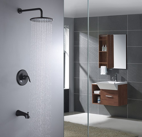 Meno Single Handle Shower Faucet SH-AZ032ORB from Anzzi