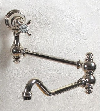 Royale Single Handle Wall Mounted Pot Filler 3029 from Herbeau