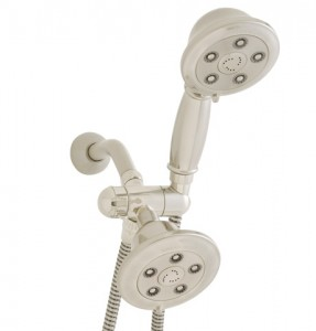 Speakman Combination Multi Function Anystream Showerhead and Personal Hand Shower from the Alexandria Collection