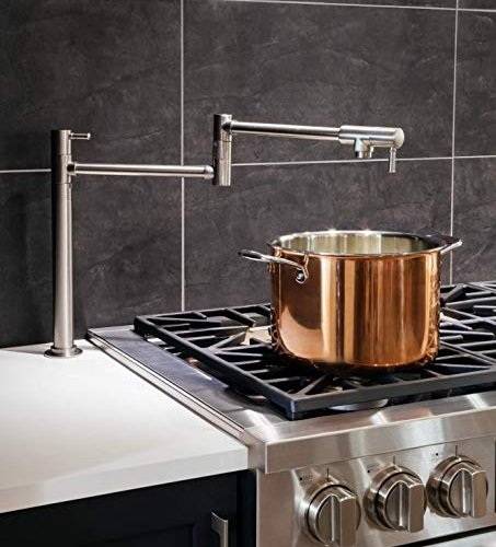 Talis C Deck-Mounted Pot Filler 04219830 from Hansgrohe