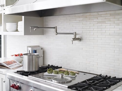 Talis C Wall-Mounted Pot Filler 04218800 from Hansgrohe