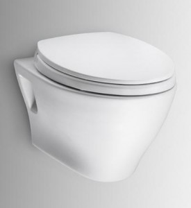 Toto Aquia Wall Hung Dual Flush Toilet