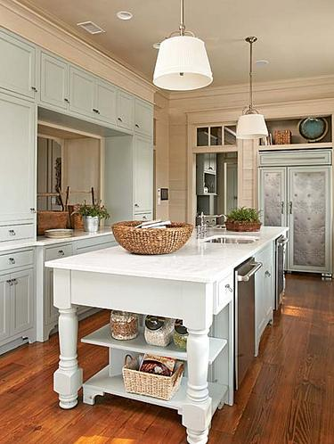 miami large kitchen island ideas traditional with truss ...