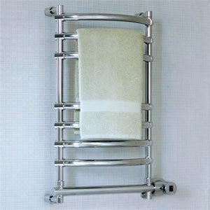Mr Steam Steambaths Brushed Nickel Wallmount Electric Towel Warmer W634