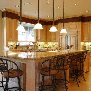 Recessed Lighting Is A Great Starting Point For Your Kitchen Lighting, But It Shouldn't Be The Only Light You Use