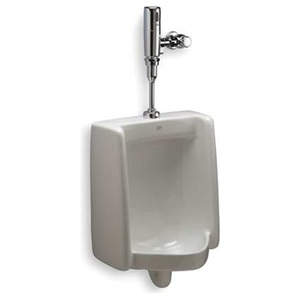 Zurn The Pint 0.125 Gpf Top Spud Ultra Low Consumption Urinal System