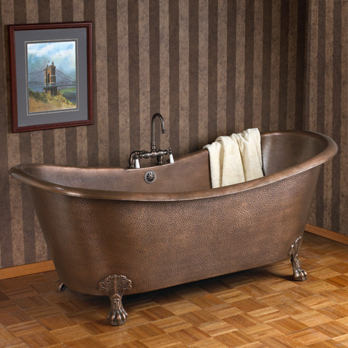 vintage copper bathtubs aren't as much trouble as you think - how